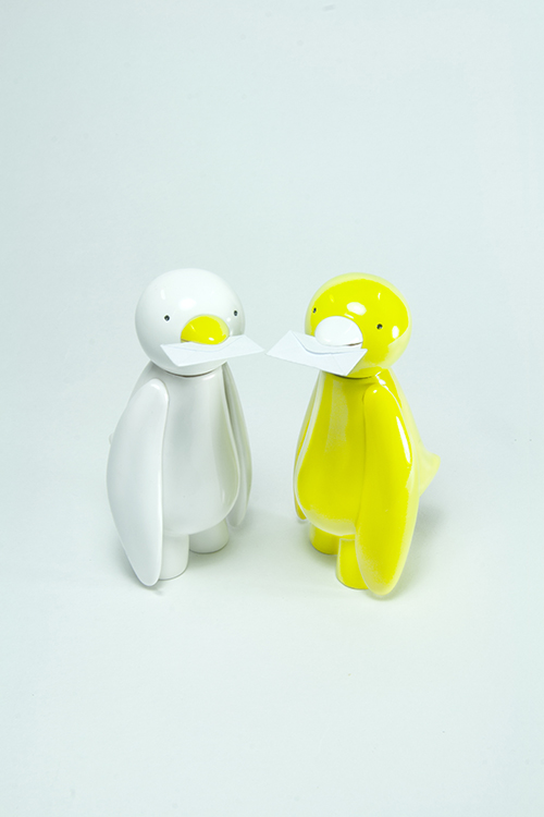Production information - ji ja bird figure-1
